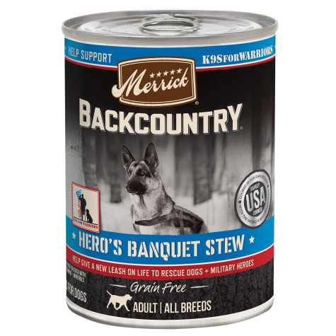 Merrick Backcountry Hero's Banquet Grain Free Wet Dog Food