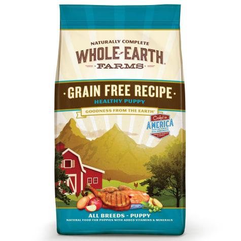 Whole Earth Farms Grain Free Healthy Puppy Recipe Dry Food