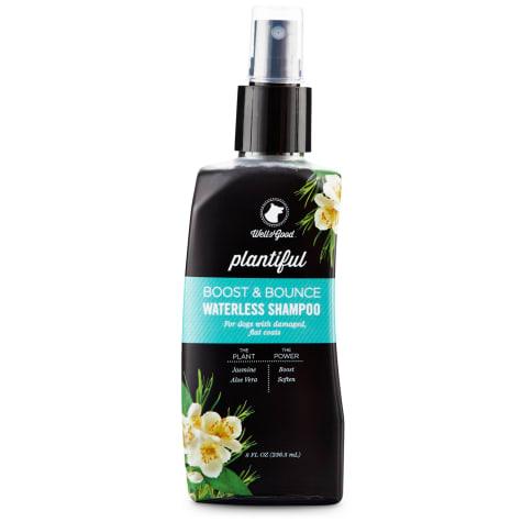 Well & Good Plantiful Boost & Bounce Waterless Dog Shampoo