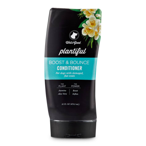 Well & Good Plantiful Boost & Bounce Dog Conditioner