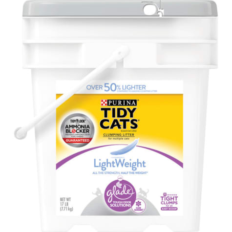 Purina Tidy Cats LightWeight Glade Clean Blossoms Dust Free Clumping Multi Cat Litter