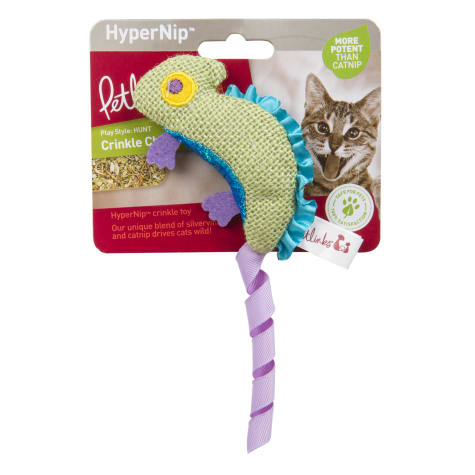 Petlinks System Crinkle Chameleon Cat Toy