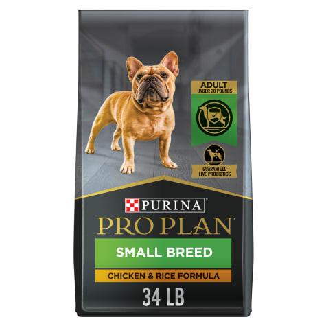 Purina Pro Plan Savor Shredded Blend Chicken & Rice Formula With Probiotics Small Breed Dry Dog Food