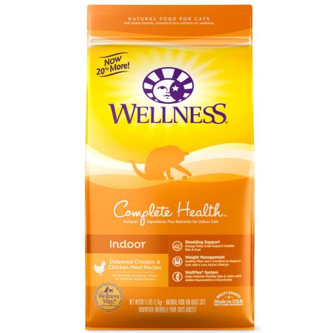 Wellness Complete Health Natural Deboned Chicken & Chicken Meal Dry Indoor Cat Food