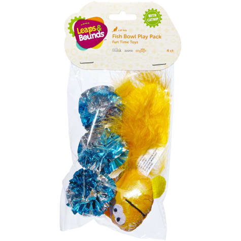 Leaps & Bounds Fish Cat Toy Variety Pack