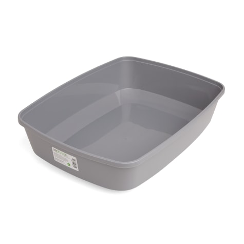 So Phresh Gray Open Cat Litter Box