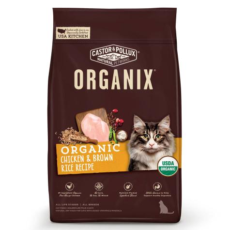 Castor & Pollux Organix Chicken & Brown Rice Recipe Cat Dry Food