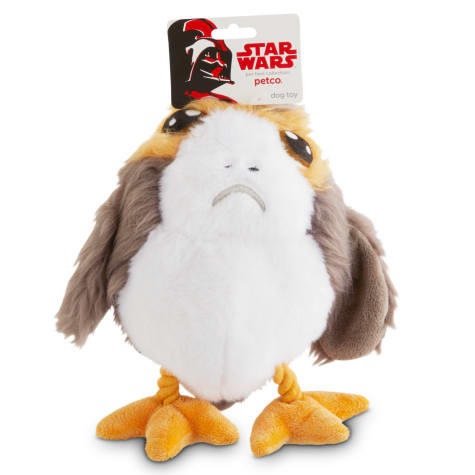 STAR WARS Porg with Rope Legs Dog Toy