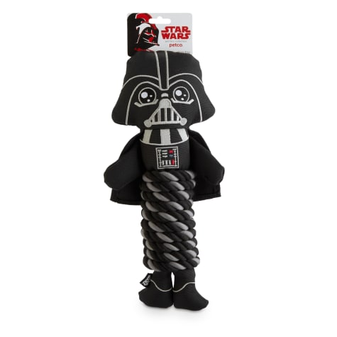 STAR WARS Darth Vader Rope Dog Toy
