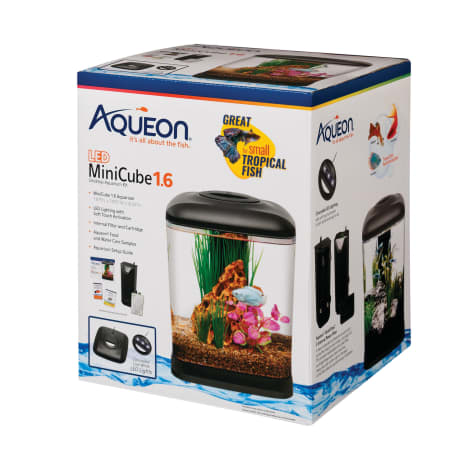 Aqueon LED Mini Cube, 1.6 GAL