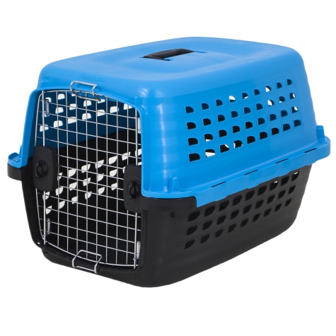Petmate Compass Kennel Blue