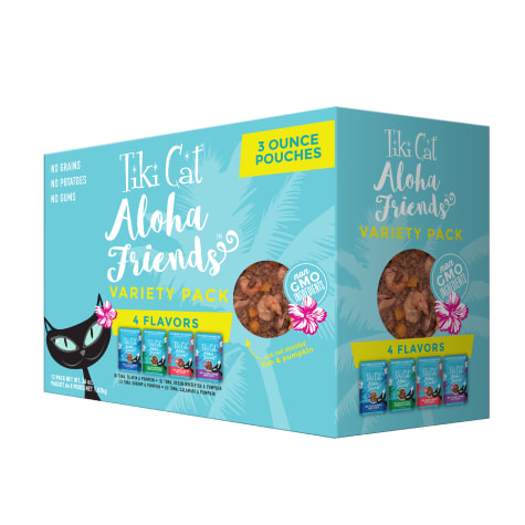 Tiki Cat Aloha Friends Variety Pack Cat Food Pouches