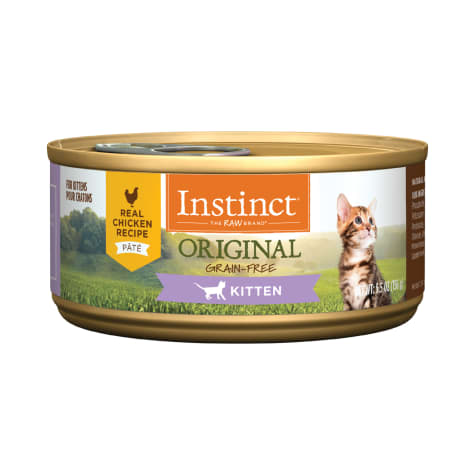 Instinct Original Kitten Grain-Free Pate Real Chicken Recipe Wet Cat Food