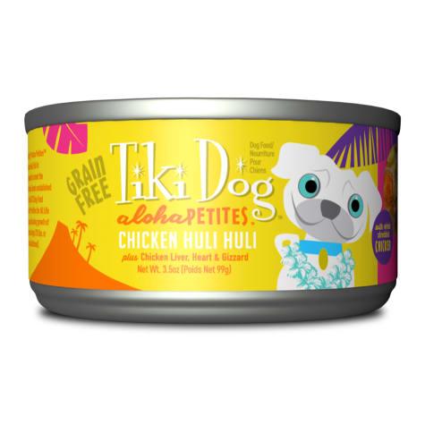 Tiki Dog Aloha Petites Chicken Huli Huli Small Breed Wet Dog Food