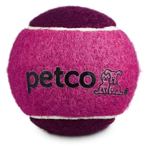 Petco Tennis Ball Dog Toy in Pink