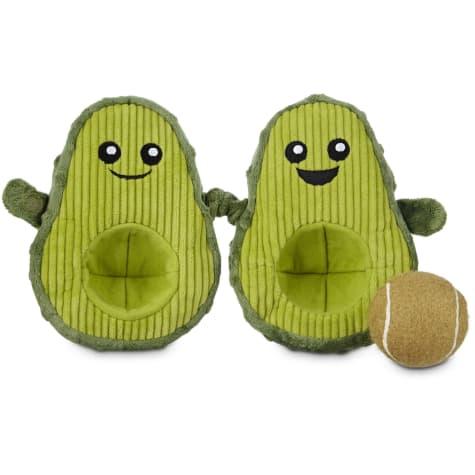 Avocado dog toy at Petco