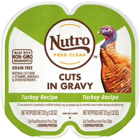Nutro Perfect Portions Cuts in Gravy Real Turkey Wet Cat Food