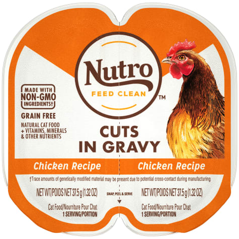 Nutro Perfect Portions Cuts in Gravy Real Chicken Wet Cat Food