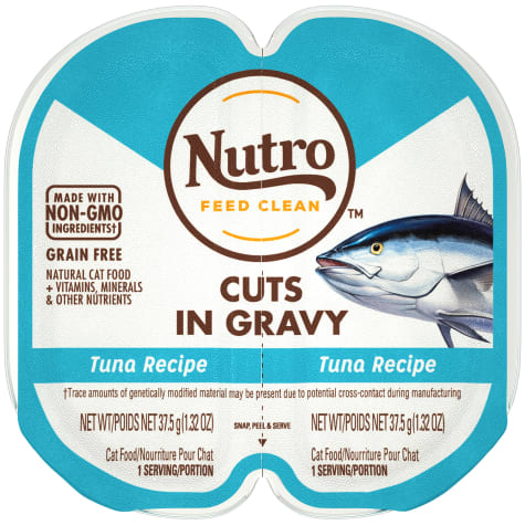 Nutro Perfect Portions Cuts in Gravy Real Tuna Wet Cat Food