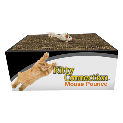 Innovation Pet Kitty Connection Sisal Mouse Pounce Ball Cat Toy