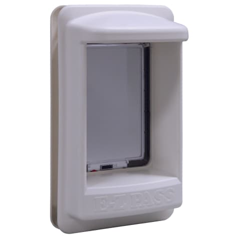 Perfect Pet EZ Pass Electronic Pet Door, in White