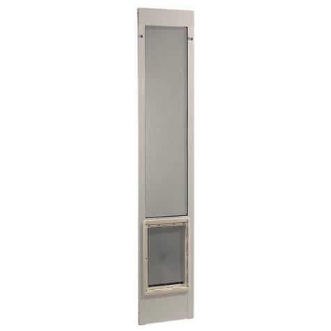 Perfect Pet 75'' Pet Patio Door in White