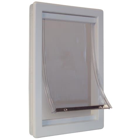 Perfect Pet Plastic Pet Door in White
