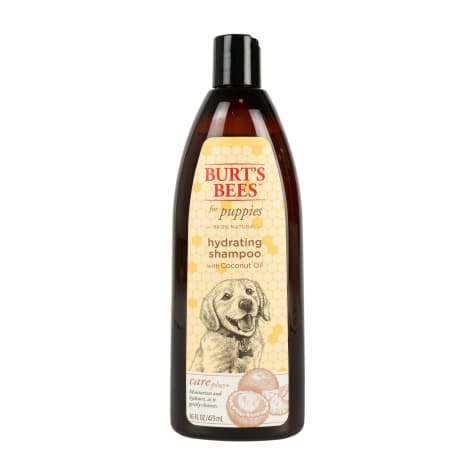 Burt's Bees Care Plus+  Hydrating Coconut Oil Puppy Shampoo