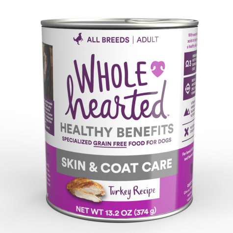 WholeHearted Skin & Coat Care Turkey Recipe Wet Dog Food