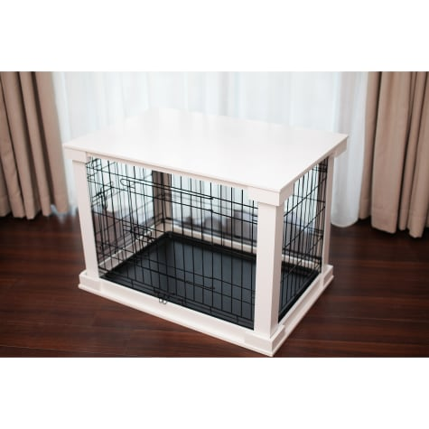 Merry Products Crate with Cover in White