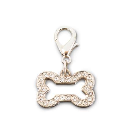 Bond & Co. Bling Bone Dog Collar Charm