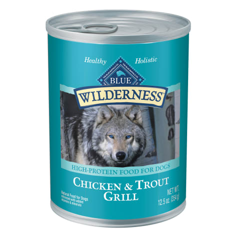 Blue Buffalo BLUE Wilderness Trout & Chicken Grill Wet Dog Food