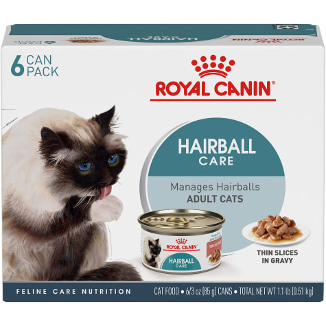 Royal Canin Hairball Care Thin Slices in Gravy Wet Cat Food Multipack