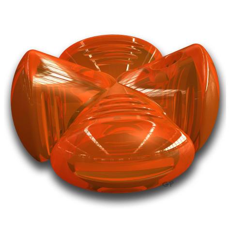 Bionic Stuffer in Orange