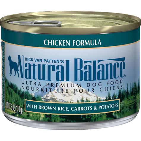 Natural Balance Ultra Premium Chicken Formula Wet Dog Food