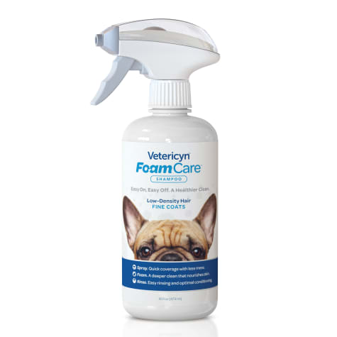 Vetericyn FoamCare Pet Shampoo for Thin Coat Types