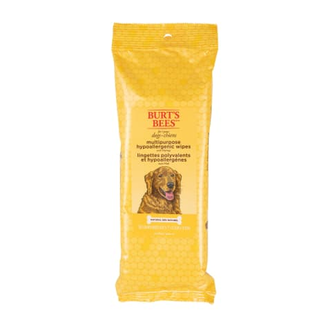 Burt's Bees Honey Hypoallergenic Multipurpose Dog Wipes