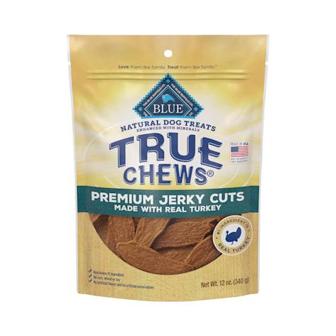 True Chews Premium Jerky Cuts Made With Real Turkey Dog Treats