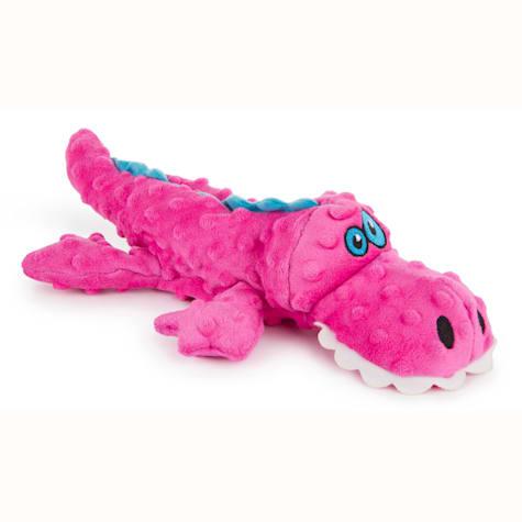 Godog Gators Large, Pink With Chew Guard Technology Pink