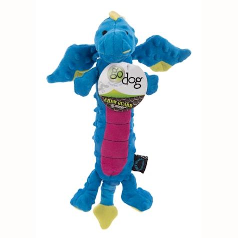 goDog Dragons Skinny Blue Chew Guard