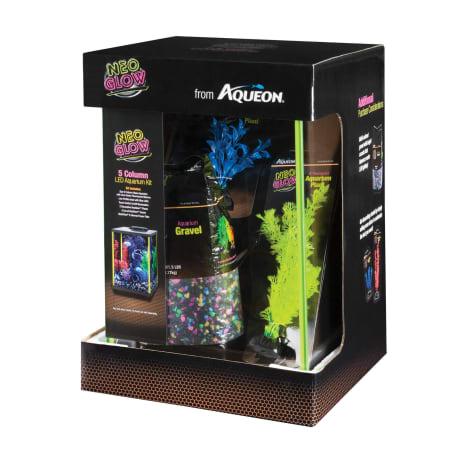 Aqueon Aquarium Kit Lime Green NeoGlow