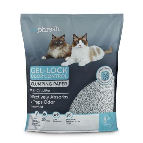 So Phresh Gel-Lock Odor Control Clumping Paper Multi-Cat Litter