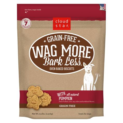 Cloud Star Wag More Bark Less Grain Free Pumpkin Dog Treats