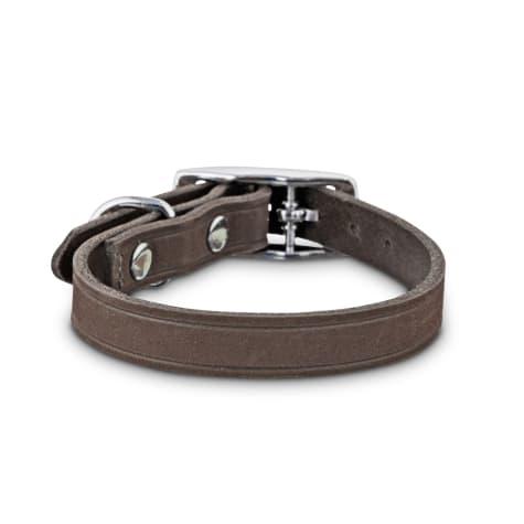 Bond & Co. Gray Suede Dog Collar
