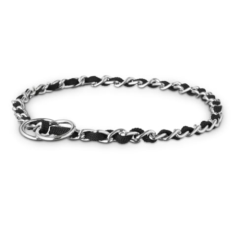 Good2Go Black Comfort Chain Dog Collar
