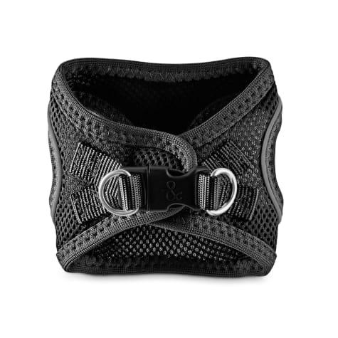 Bond & Co. Reflective Black Mesh Dog Harness