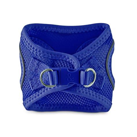 Bond & Co. Reflective Blue Mesh Dog Harness