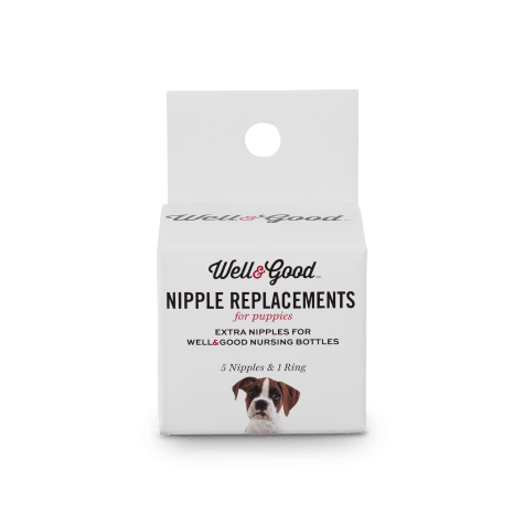 Well & Good Replacement Puppy Bottle Nipple Kit