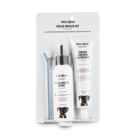 Well & Good Fresh Breath Puppy Kit