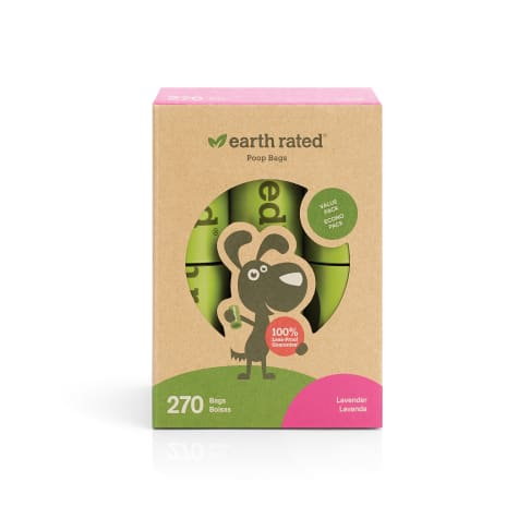 Earth Rated PoopBags 270 Scented Refill Bags